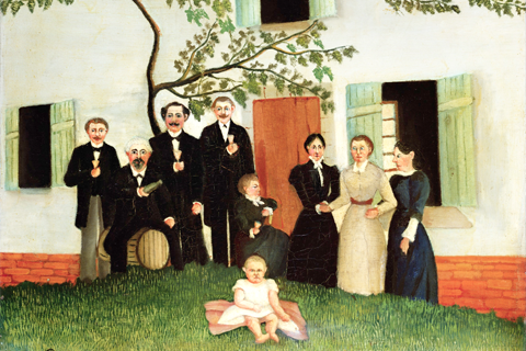Henri Rousseau / Copyright -  The Barnes Foundation, Merion Station, Pennsylvania/Corbis