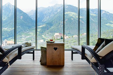 Hotel Hohenwart - Aussicht auf Berge