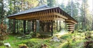 Meditation House by Kengo Kuma