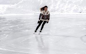 Eislaufen & Wellness