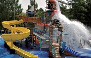 Mit Wasserpark