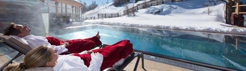 Die besten Wellnesshotels für Wintersport abseits der Skipiste
